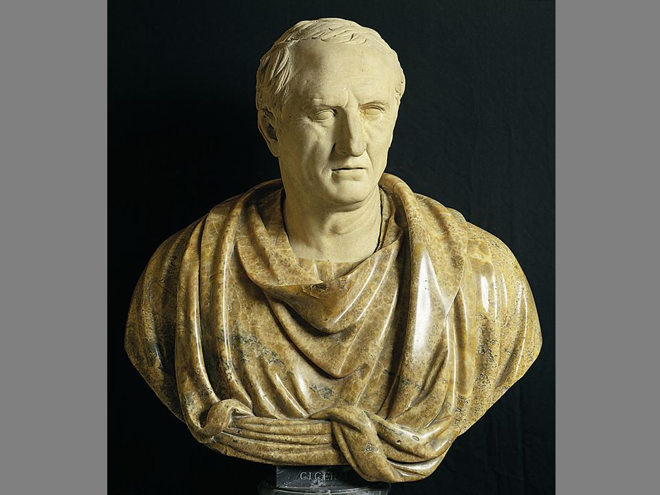 [Image 4.7] Bust of Cicero
